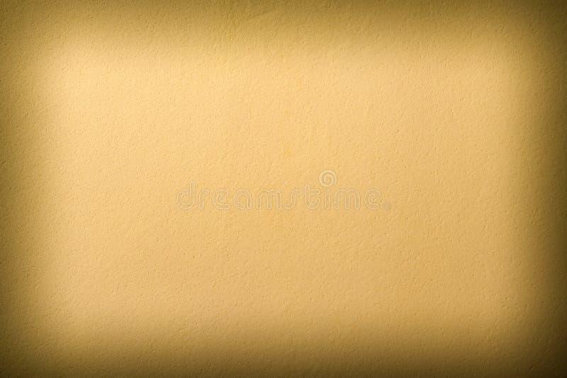 被构造的米黄皮革部分 库存照片