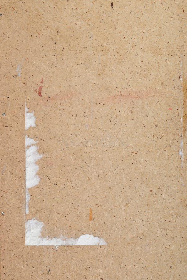 被构造的老胶合板 库存图片