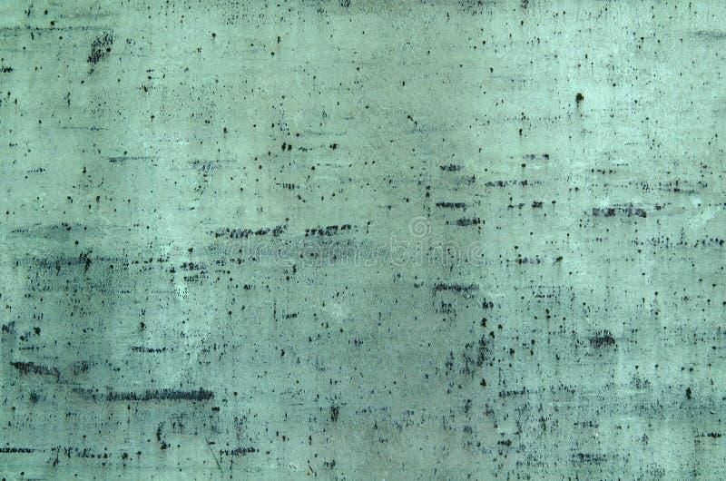被氧化的铜背景 库存图片