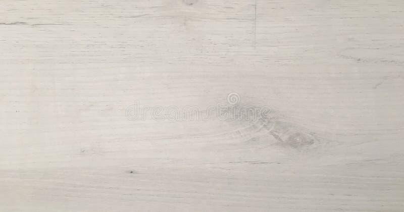 被洗涤的白色木纹理 木背景轻的纹理 免版税库存照片