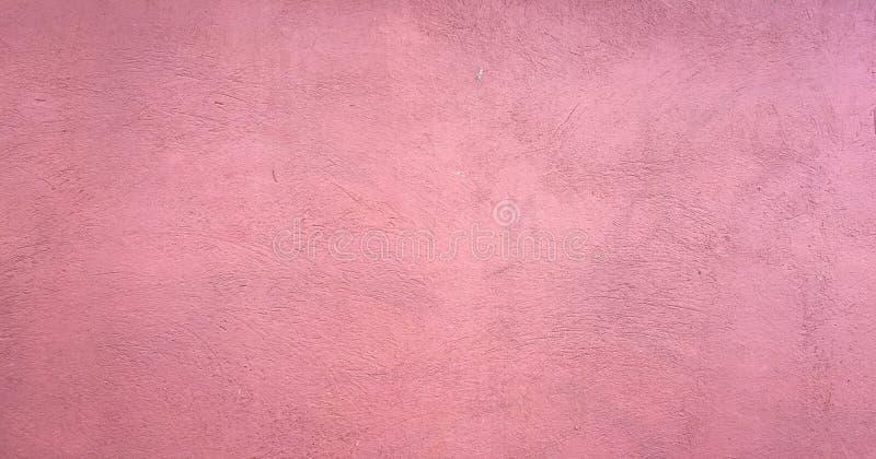 被洗涤的红色绘了与刷子油漆冲程的织地不很细抽象背景在白色和黑树荫下 摘要桃红色绘画艺术bac 库存图片