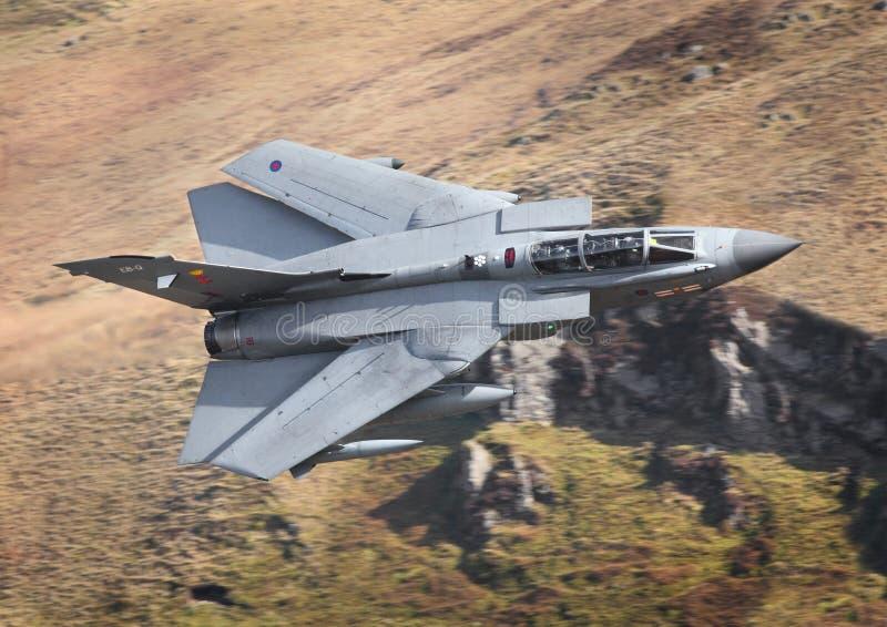 被清扫的GR4 tonado喷气机 图库摄影