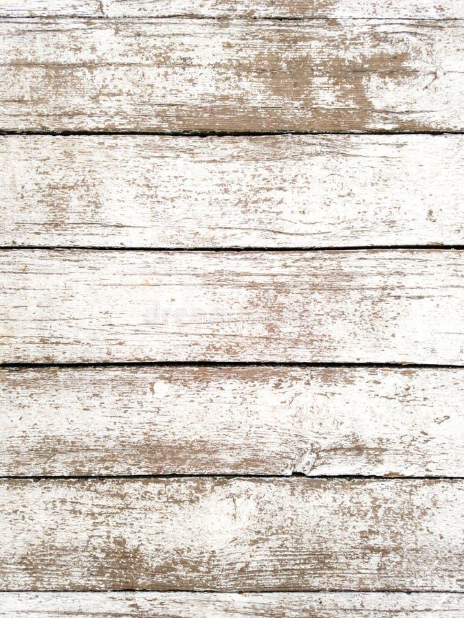 被漂白的木板条 库存图片