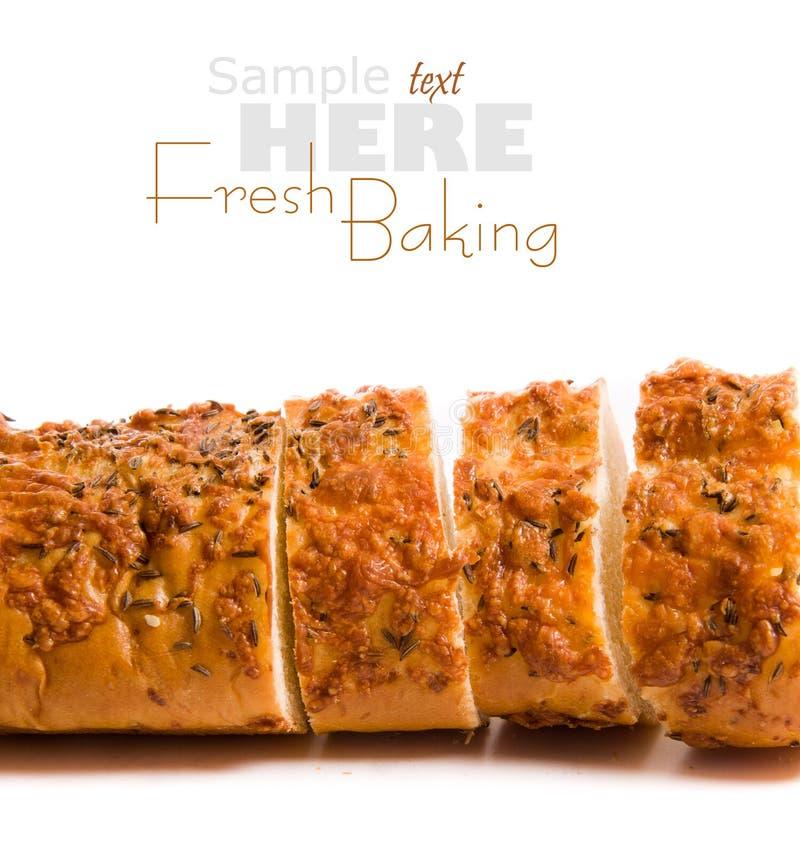 被烘烤的新鲜的大面包 库存图片