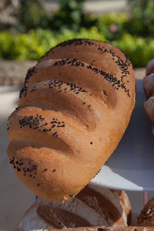 被烘烤的物品、面包和面包店的分类 面包的混合 Servind面包 bactria 库存图片