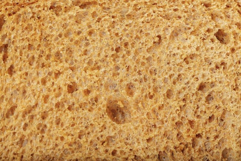 被烘烤的面包特写镜头 免版税库存图片