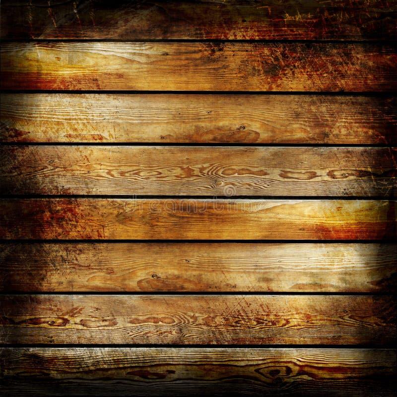 被烧的木头 免版税库存图片