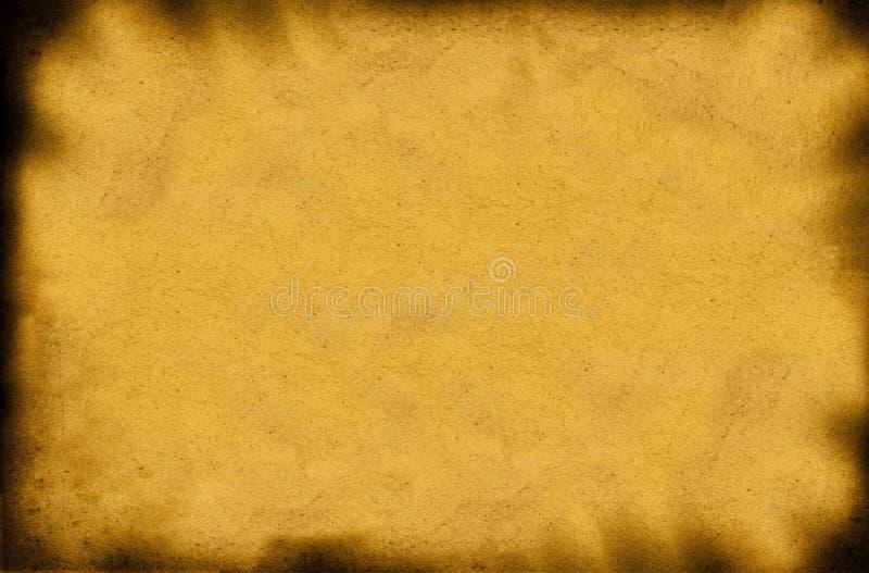 被烧的纸张大小xxl 免版税库存照片