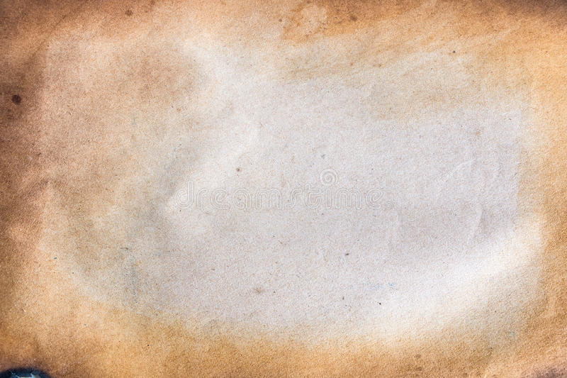 被烧的纸张 免版税库存照片