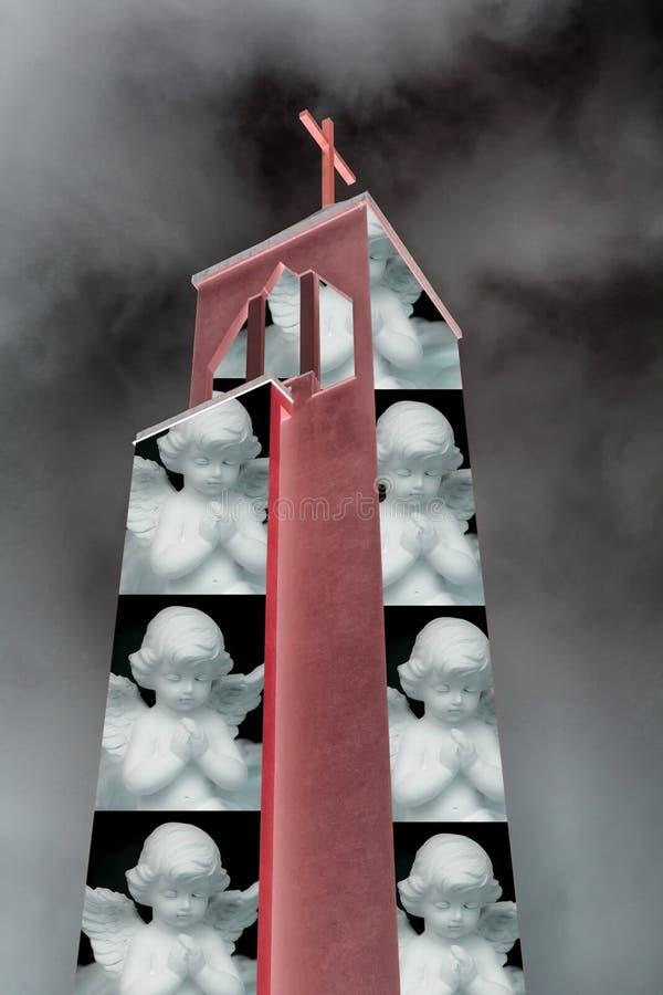被监禁的天使的例证 皇族释放例证