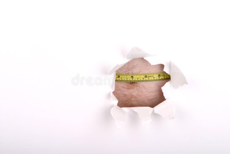 被瞄准的重量 免版税库存图片