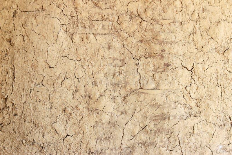被研的土壤崩裂侵蚀纹理背景 库存照片