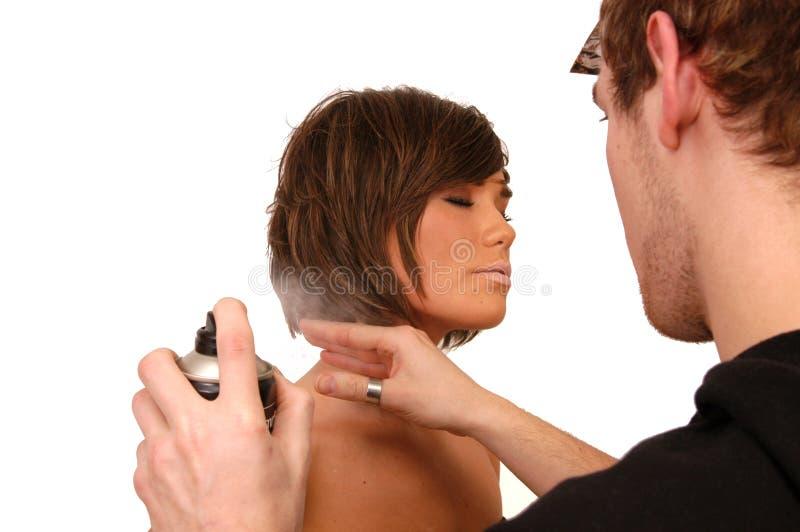 被称呼的头发 免版税库存图片