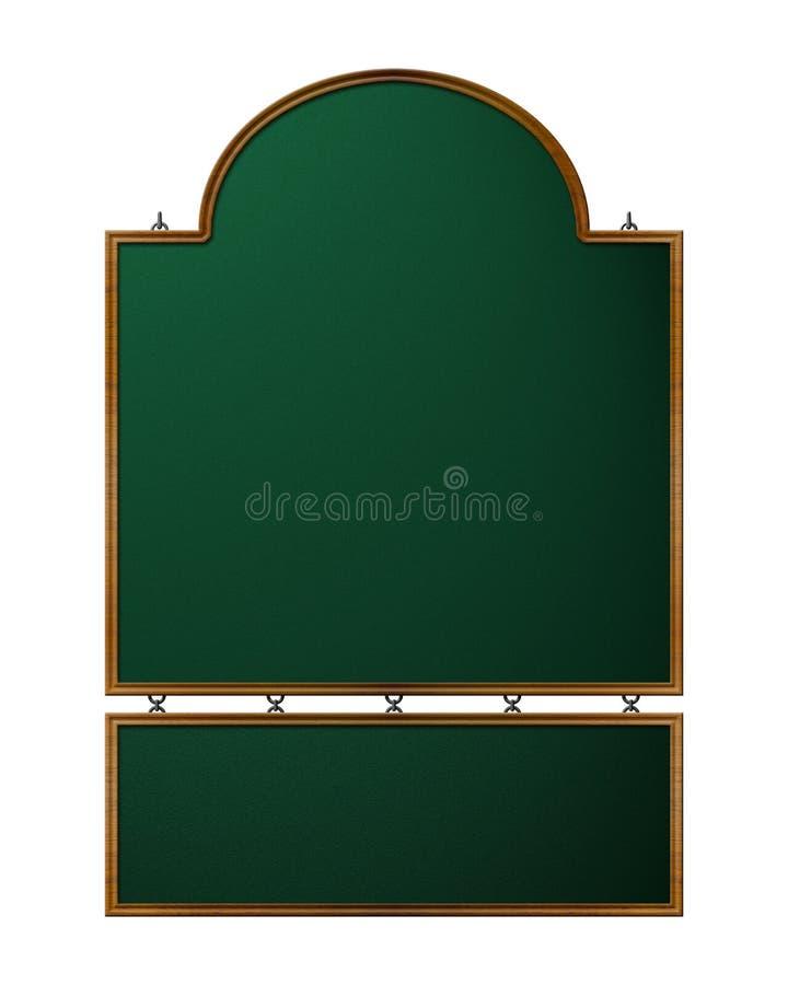 被称呼的老界面符号 皇族释放例证