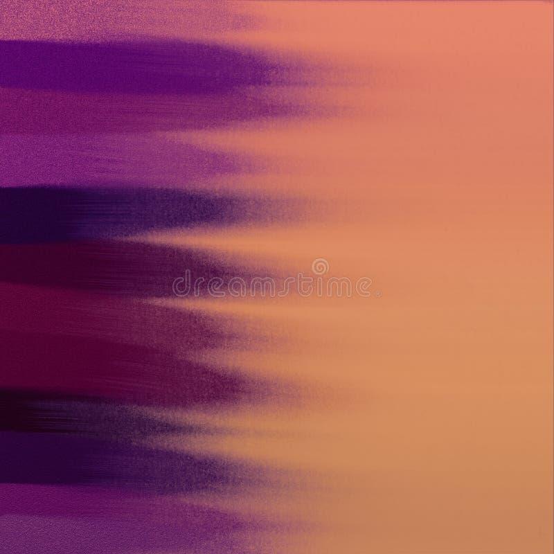 被绘的抽象背景 难看的东西在紫色口气的颜色样片 好为:海报卡片,装饰 皇族释放例证