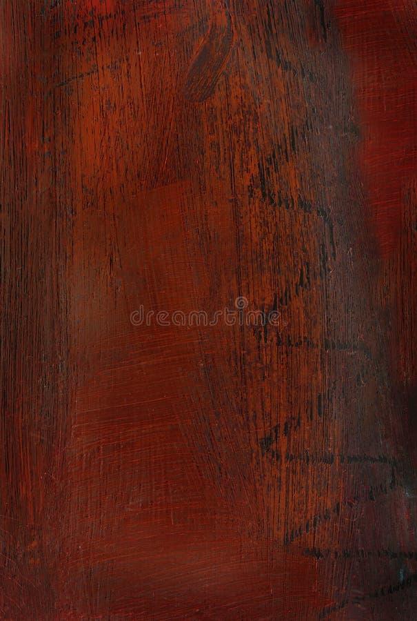 被绘的抽象褐色 免版税库存照片