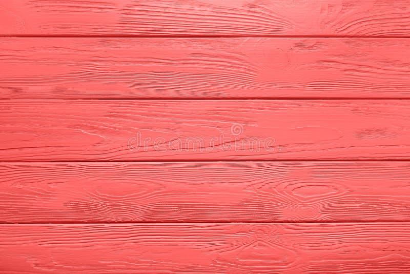 被绘的桌木板条纹理或背景在居住Cora的 库存照片