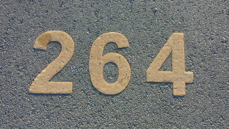 被编号的停车位 库存照片
