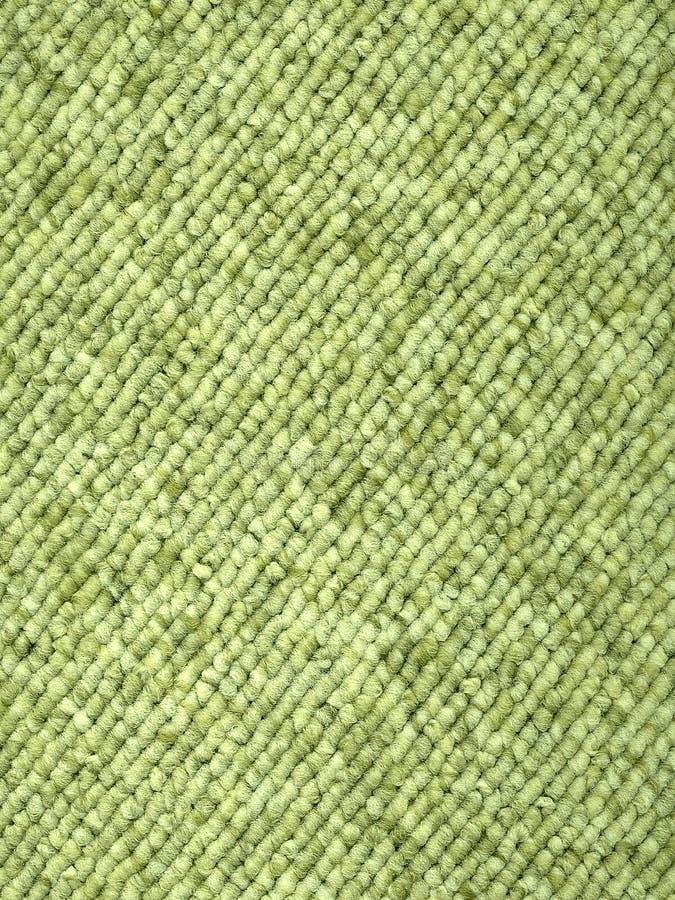 被编织的地毯绿色循环 图库摄影