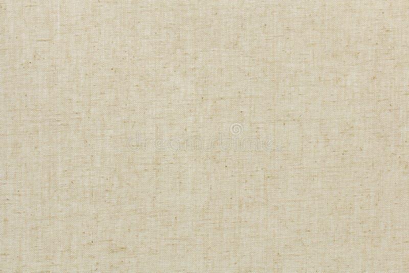 被编织的帆布或自然样式葡萄酒亚麻制纹理背景 库存照片