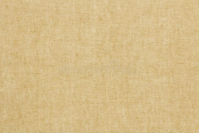 被编织的帆布或自然样式葡萄酒亚麻制纹理背景 免版税库存图片