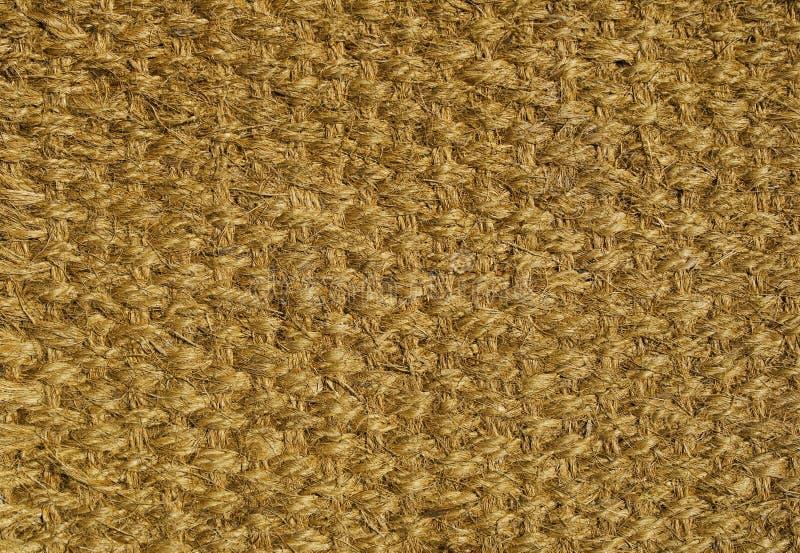 被编织的楼层地毯 图库摄影