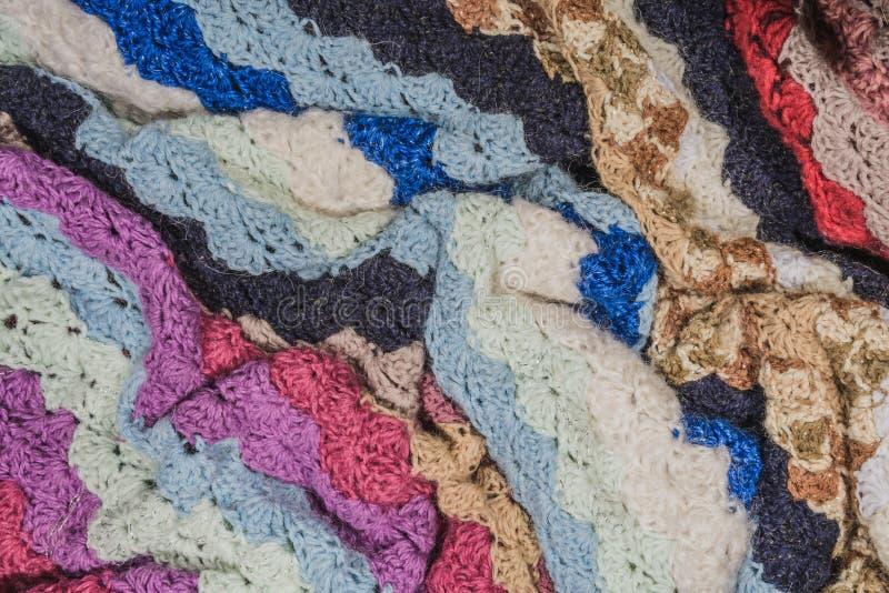 被编织的毯子 库存图片