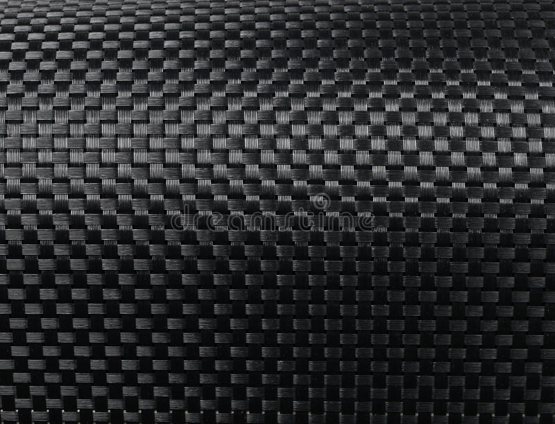 被编织的碳纤维 免版税库存照片