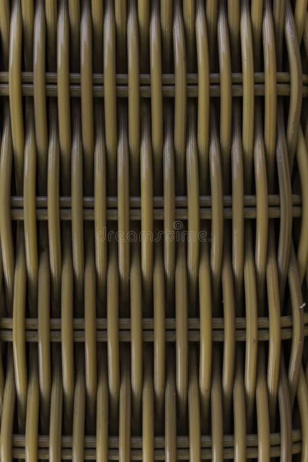 被编织的藤茎 库存照片
