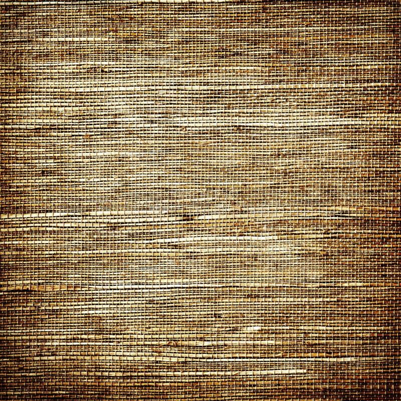 被编织的难看的东西织品纹理 免版税库存图片