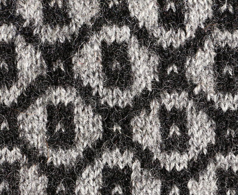 被编织的织品特写镜头 免版税库存图片