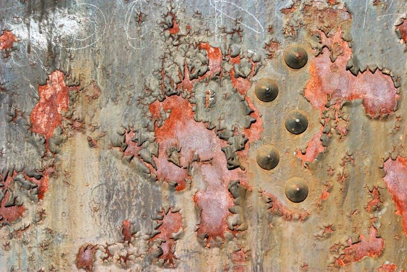 被腐蚀的坦克水 免版税库存照片