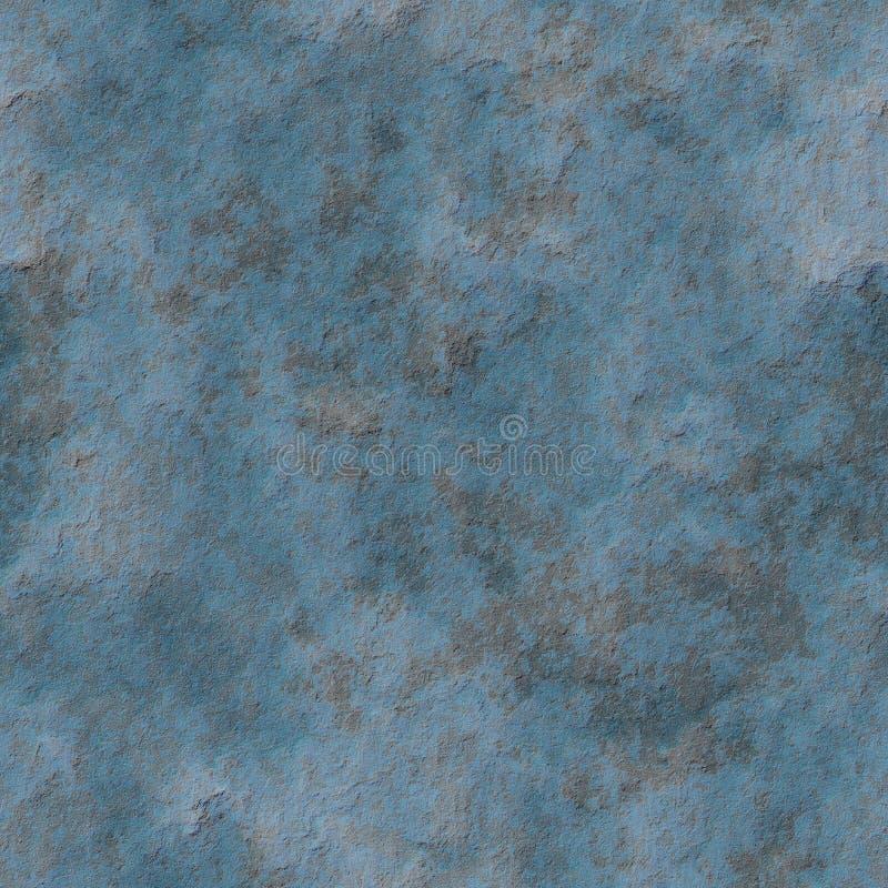 被腐蚀的无缝的灰泥墙壁 库存例证