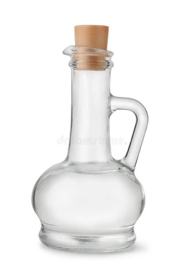 被蒸馏的白醋 库存照片