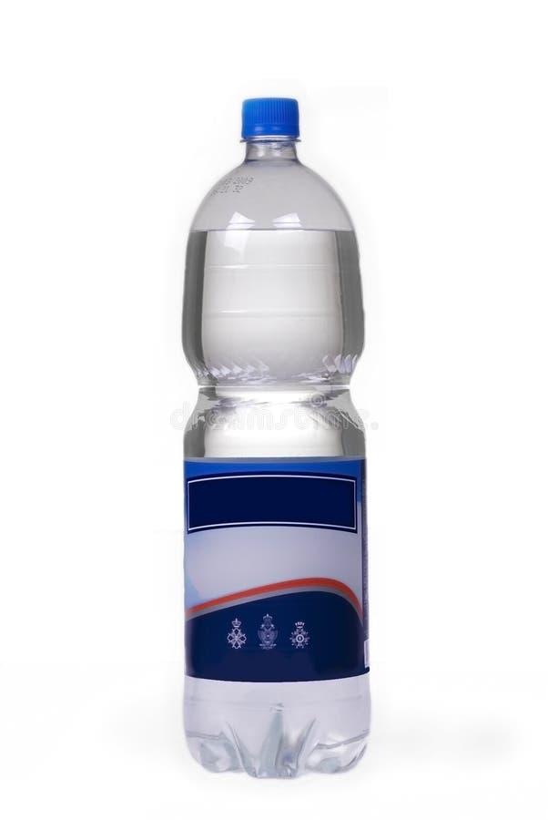被装瓶的水 库存照片