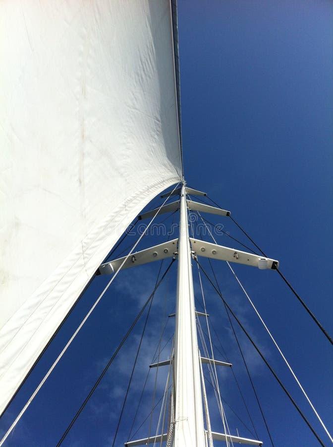 被装载的航行wndless 免版税图库摄影