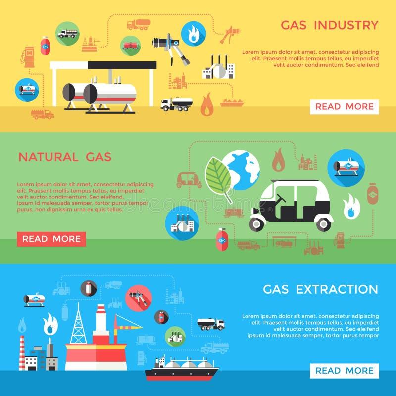 Download 被设置的天然气产业水平的横幅 向量例证. 插画 包括有 甲烷, 燃料, 火焰, 忠告, 自然, 能源, 钞票 - 72361824