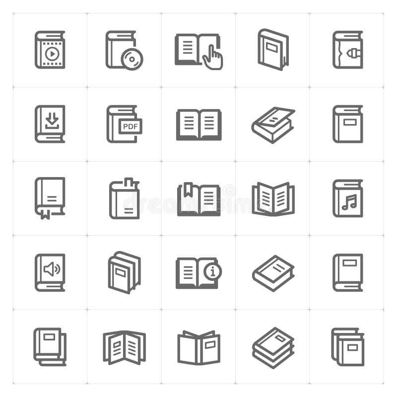 被设置的象-书概述冲程 库存例证