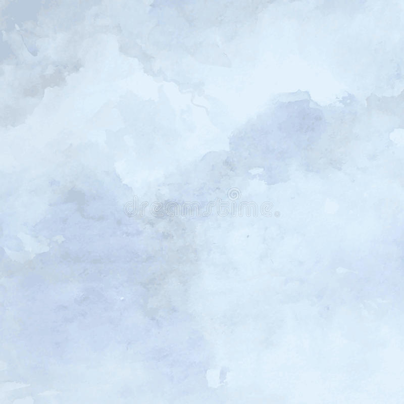 被设计的难看的东西纸纹理,水彩蓝色艺术性的抽象传染媒介背景,设计书的手拉的样式 库存例证
