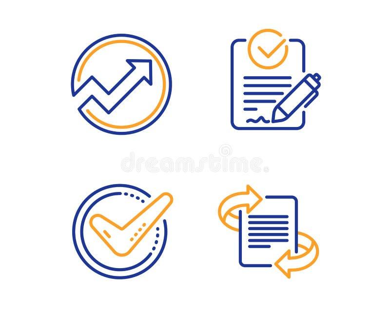 被证实的,审计和Rfp象集合 销售的标志 被接受的消息,箭头图表,索取承包人估价书 ?? 向量例证