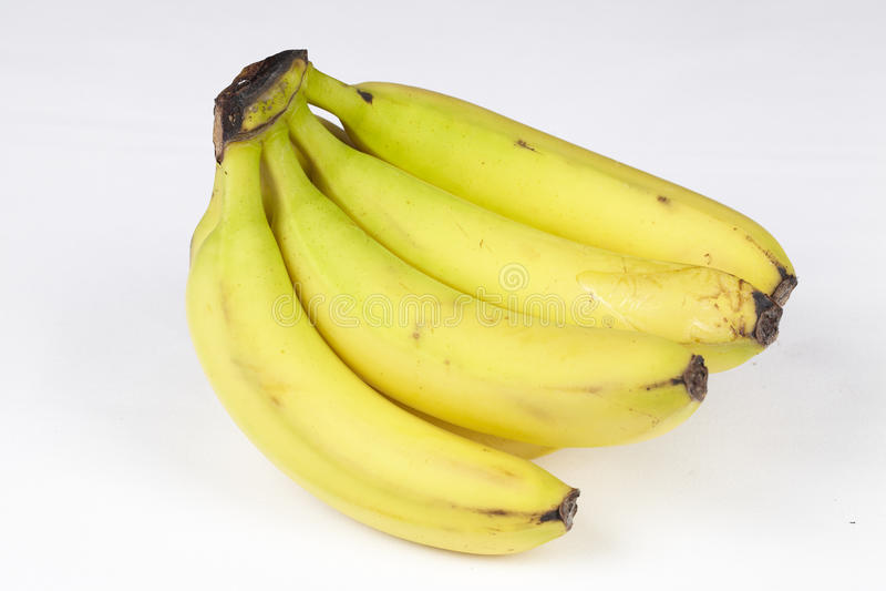 -被豁免的香蕉 库存图片