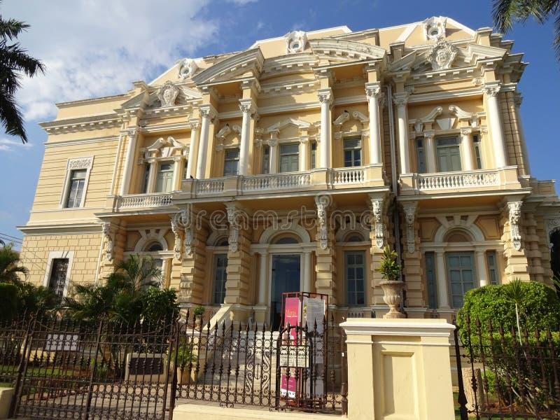 被转换的豪华豪宅在墨西哥 免版税库存图片