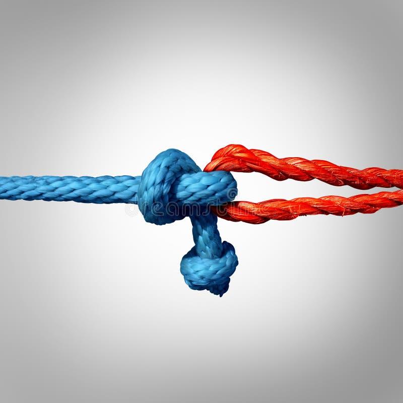 被连接的概念 向量例证