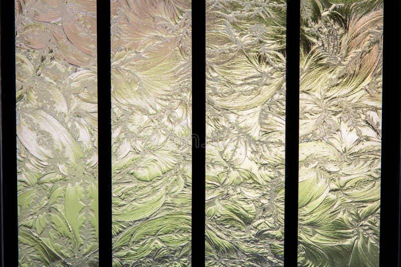 被铭刻的玻璃 库存图片