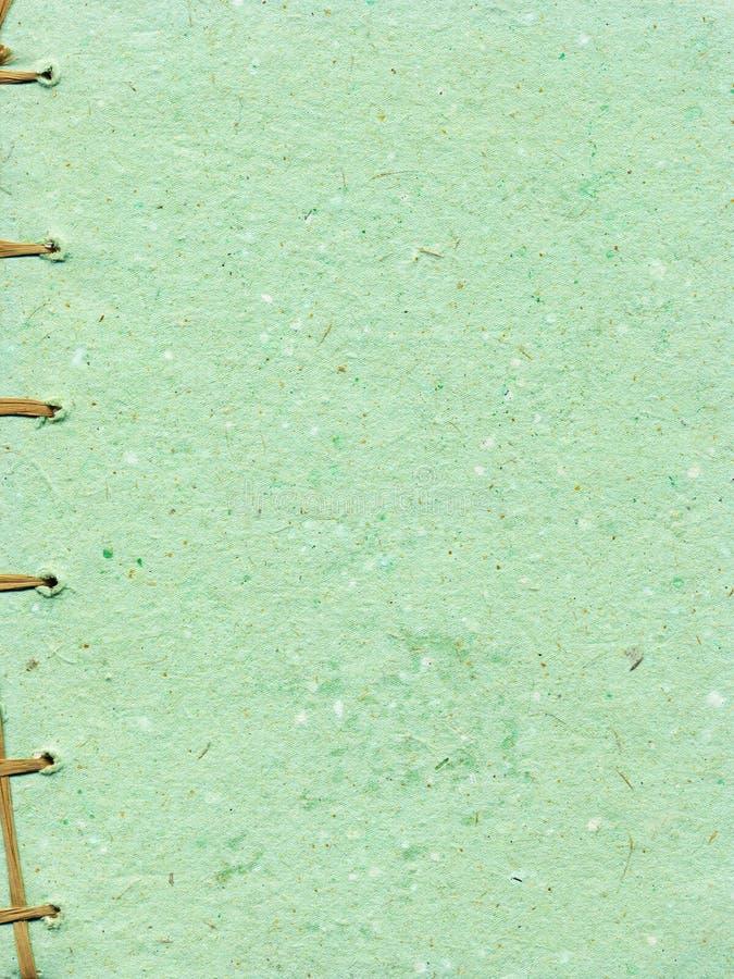 被限制的手工制造果壳纸张菠萝字符&# 库存图片