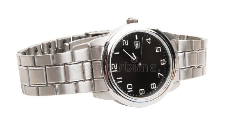 被隔绝的人的手表 库存图片