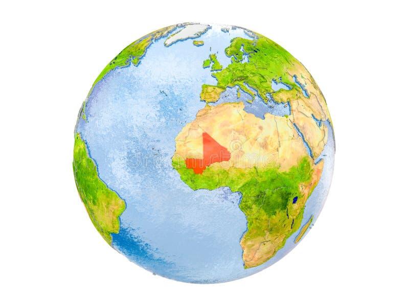 被隔绝的地球的马里 免版税库存照片