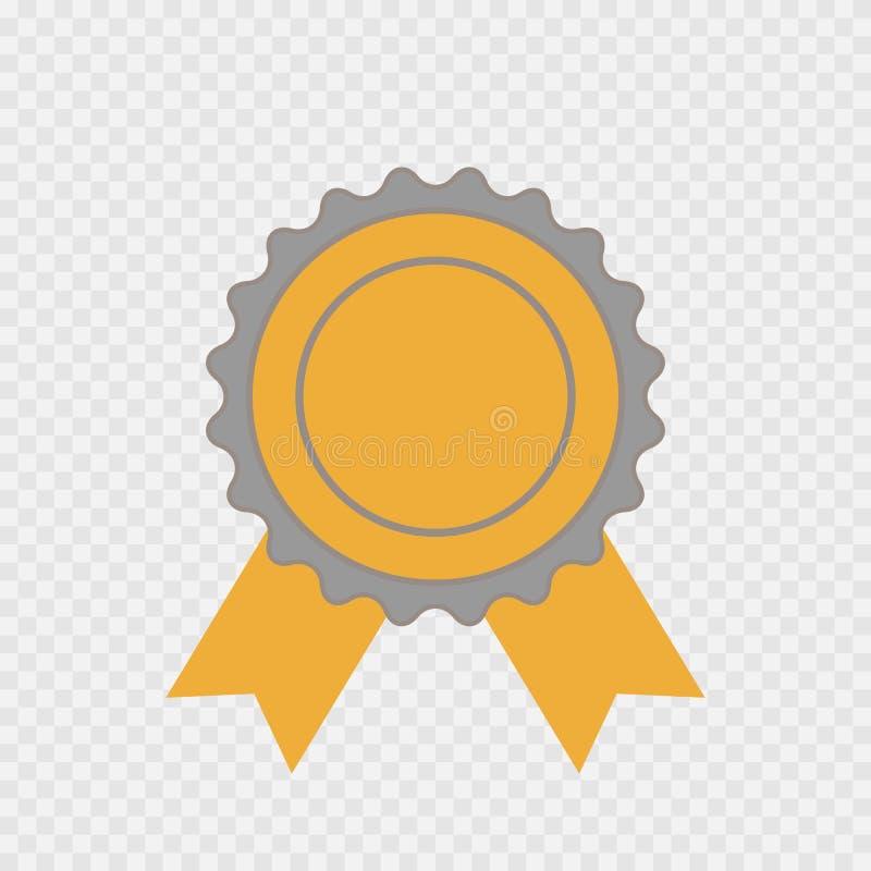 被隔绝的奖象 导航第一个地方的infographic标志,最好,优胜者 库存例证