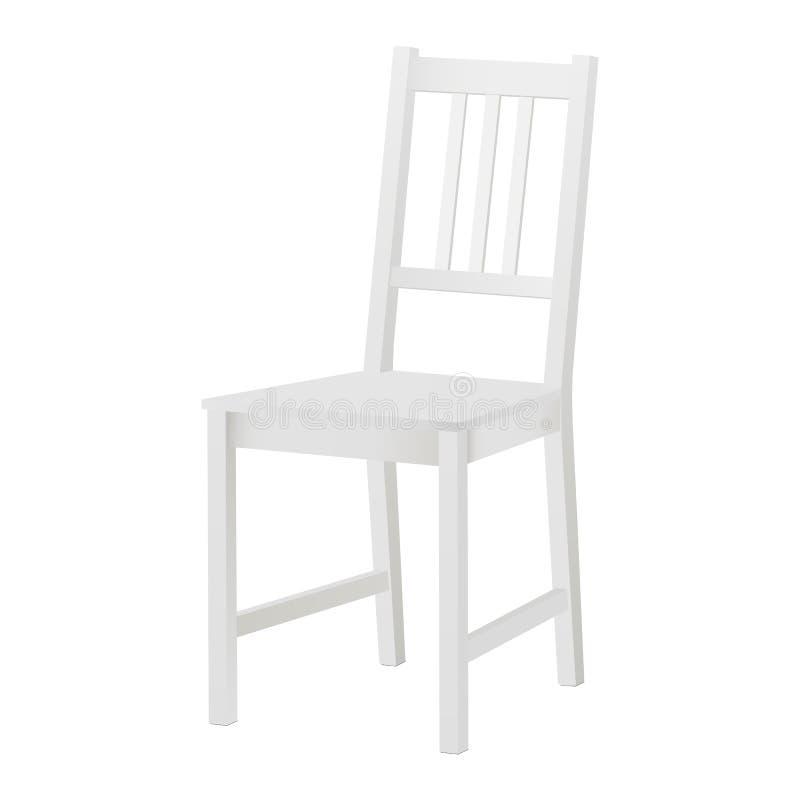 被隔绝的椅子大模型 皇族释放例证