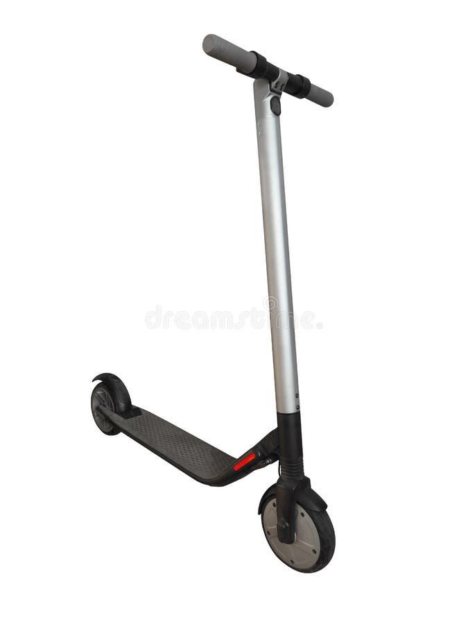 被隔绝的电滑行车 免版税库存图片